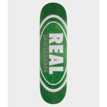 Real Skateboards Team Oval Skateboard Deck 7.75""