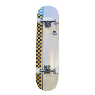 "Sushi X Picture Custom Complete Skateboard 8.125"" White"