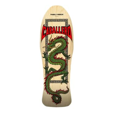 Powell Peralta Steve Caballero Chinese Dragon Skateboard Deck - 10""