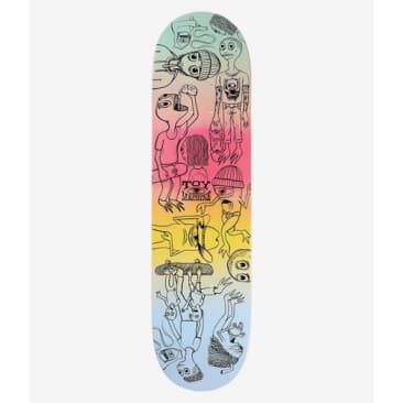 Toy Machine Characters Skateboard Deck Various Woodstains - 8.00