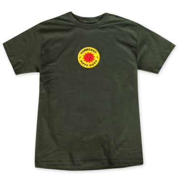 Fifty Fifty X Fore-Cast T-Shirt Army Green