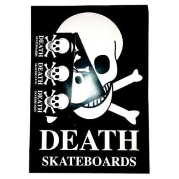 Death Skateboards Sticker Pack