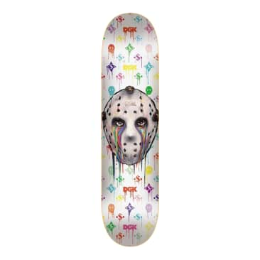 "Monogram White 8.25"" Skateboard Deck"