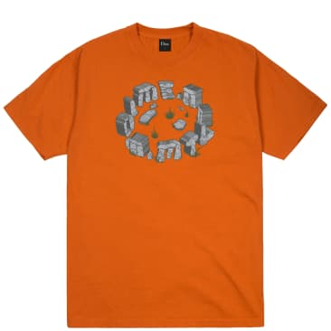Dime Stone T-Shirt - Burnt Orange
