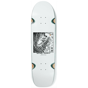 SHIN SANGONGI - FREEDOM WHITE - WHEEL WELL SURF JR. SHAPE