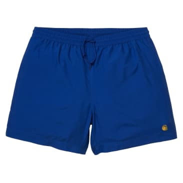 Carhartt WIP - Chase Swim Trunks - Submarine/Gold
