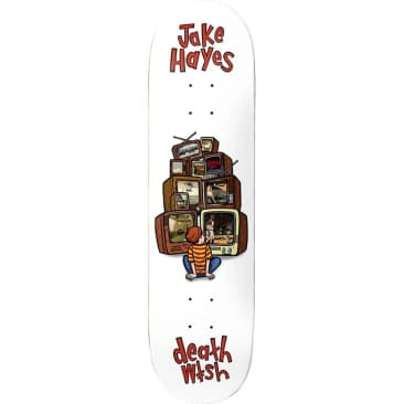 DEATHWISH Hayes Channel Surfing Deck 8.25