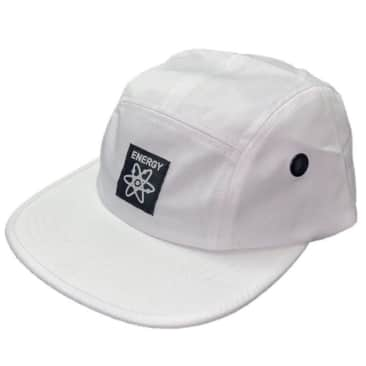 Energy Skate Shop OG Logo 5-Panel Hat (White)