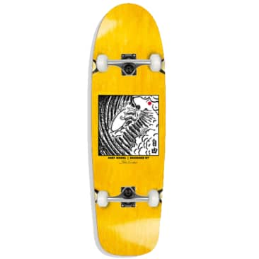 "Polar Skate Co. - Shin Sanbongi - Freedom Yellow - Complete Skateboard - 8.75"""