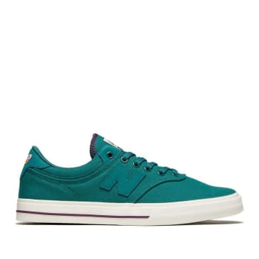 New Balance Numeric Franky Villani 255 Shoes - Green / White