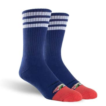 Toy Machine Stoner Sect Crew Sock Blue