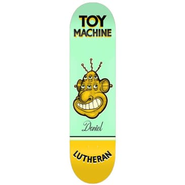 Toy Machine Lutheran Pen N Ink Skateboard Deck 7.75""