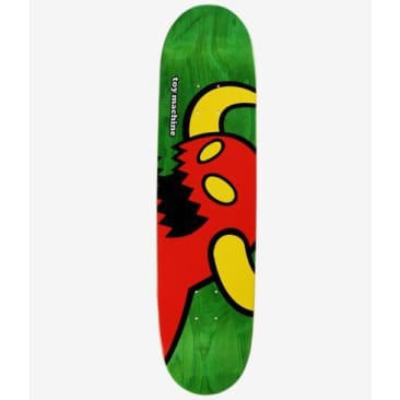 Toy Machine Vice Monster Skateboard Deck Various Woodstain - 8.25