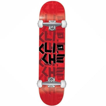 Cliche Scotch Tape Red Complete Skateboard - 7.75