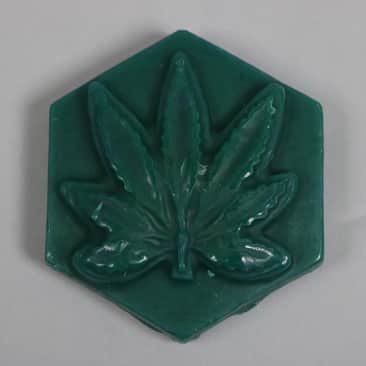 Ganj Wax 'Blueberry Scent' Large Wax (Dark Green)