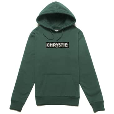 Chrystie NYC Station Logo Hoodie - Alpine Green