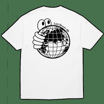 Last Resort AB World T-Shirt - White / Black