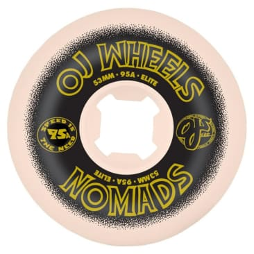 Santa Cruz Skateboards - OJ 2 Elite Nomad Wheels 95a 53mm
