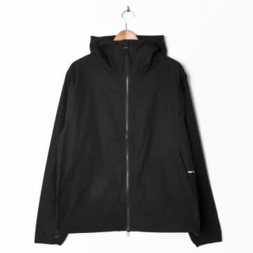 Pop Trading Company Simple Hooded Jacket Black