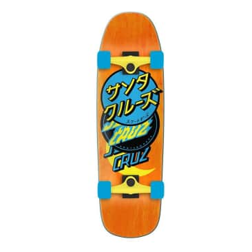 "Group Dot 80's Cruzer 32.2"" Complete Skateboard"