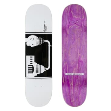 "Alien Workshop - Brainwash White Deck (8.25"")"