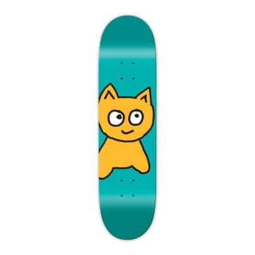 Meow Skateboards Big Cat Decks Teal 8.25""