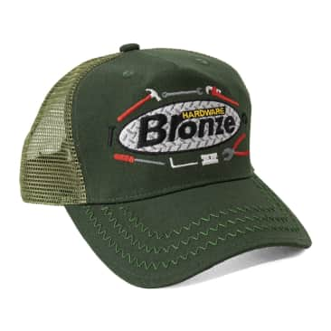 Bronze 56k Tool Time Trucker Hat - Olive