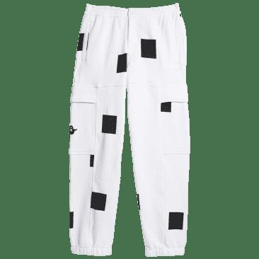adidas Skateboarding Heavyweight Shmoofoil Box Pant - White / Black
