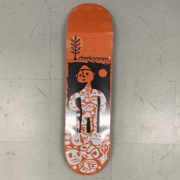 Darkroom Skateboards Scumstache Deck 8.6