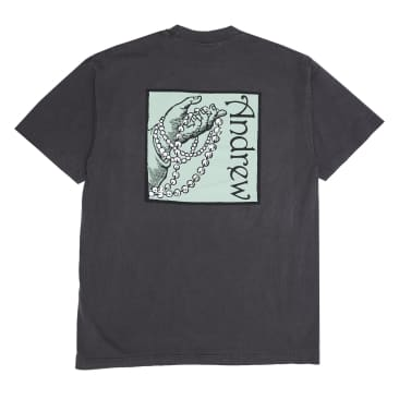 Andrew - Rags to Riches Tee - Vintage Black