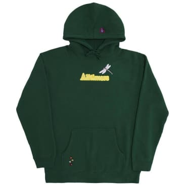 Alltimers Bugged Out Broadway Hoodie - Dark Green