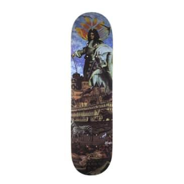 """Magenta Chamo Guest Artist Skateboard Deck - 7.625"""""""