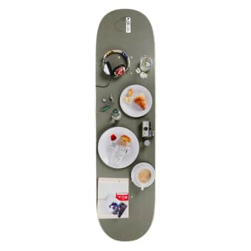 Habitat Suciu Place Setting Skateboard Deck - 8""