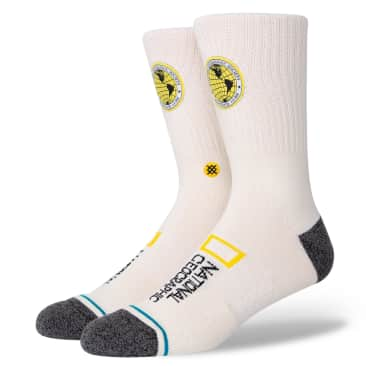 Stance Socks - Stance x National Geographic Explorers Patch | Off-White