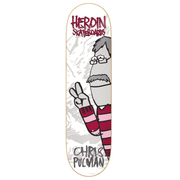 "Heroin - Chris Pulman Second Coming Deck (8.5"")"
