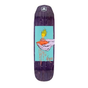 """Welcome Vasconcellos Soil On Wicked Queen 8.6"""" Deck"""