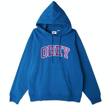 OBEY Sports III Pullover Hoodie   Blue Sapphire
