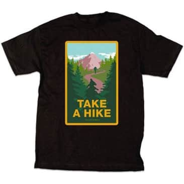 Skate Mental Take A Hike Tee (Black)
