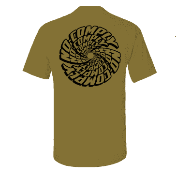 No-Comply Spiral Shirt - Antique Gold