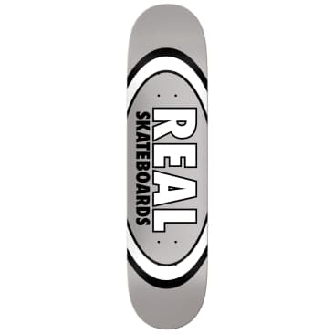 "Real | 7.75"" Classic Oval – Silver"