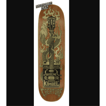 "Creature - Kimbel Gas Can Flame Deck (9"")"