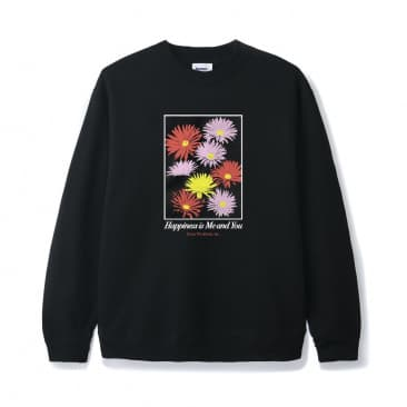 Butter Goods - Happiness Crewneck - Black