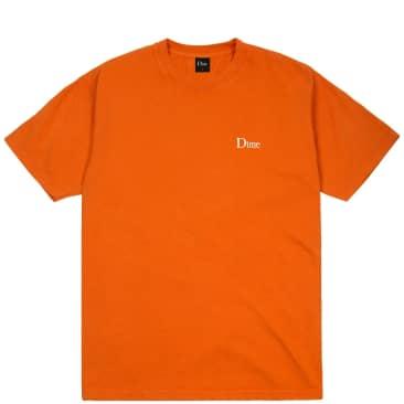 Dime Classic Small Logo T-Shirt - Burnt Orange