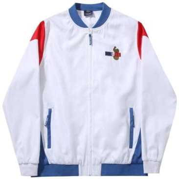 Hélas Supporter Tracksuit Jacket - White