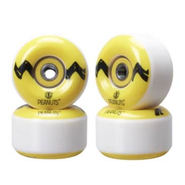 Element Skateboards Peanuts Charlie Brown Wheels and Bearings 53mm 99a