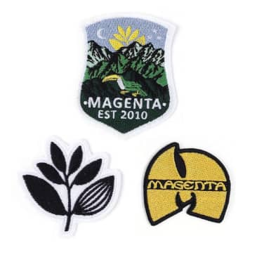 Magenta Patches Pack
