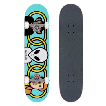 Alien Workshop Missing Link Blue Complete Skateboard - 7.75""