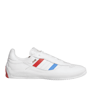 adidas Skateboarding Puig Shoes - Ftwr White / Bluebird / Vivid Red