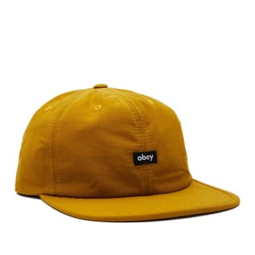 OBEY Lampin' 6 Panel Cinch Back Hat - Dijon