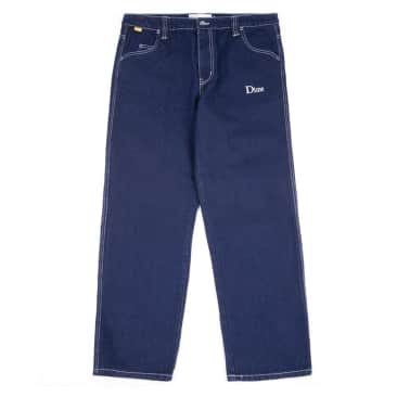 Dime Denim Pants Dark Indigo